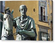 Piazza Del Plebiscito Acrylic Print