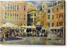 Piazza San Angelo Acrylic Print