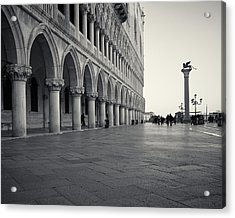 Acrylic Print featuring the photograph Piazza San Marco, Venice, Italy by Richard Goodrich