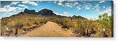 Picacho Peak State Park Panorama Acrylic Print