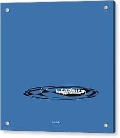 Piccolo In Blue Acrylic Print by David Bridburg