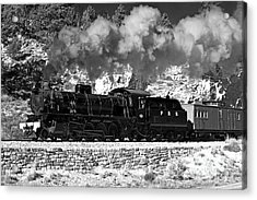 Acrylic Print featuring the photograph Pichi Richi Railwaytrain by Bill  Robinson