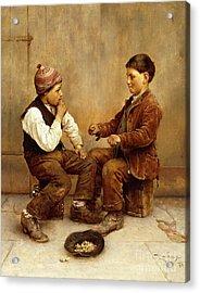 Pick A Hand, 1889 Acrylic Print