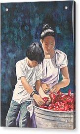 Pick A Pepper Acrylic Print