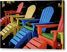 Pick Your Color Acrylic Print by JAMART Photography
