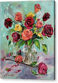 Acrylic Print featuring the painting Picked For You by Jennifer Beaudet