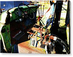 Picker Truck Acrylic Print by Marcus Adkins