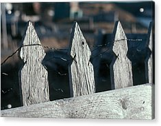 Picket Fence Acrylic Print by Douglas Pike