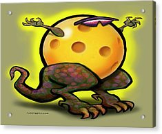 Pickleball Beast Acrylic Print by Kevin Middleton