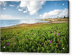 Picnic At Sunset Cliffs Acrylic Print