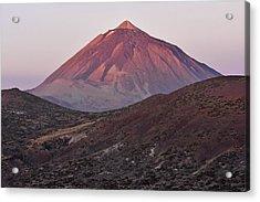 Morning Volcano Acrylic Print by Marek Stepan