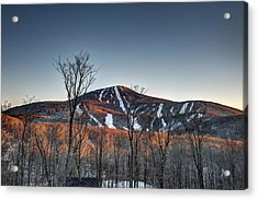 Pico Peak Acrylic Print
