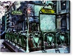 Acrylic Print featuring the photograph Picoas by Dariusz Gudowicz