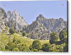 Picos De Europa Mountains Acrylic Print