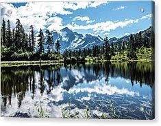 Picture Lake Acrylic Print