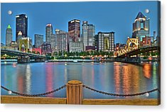 Picture Perfect Pittsburgh Acrylic Print