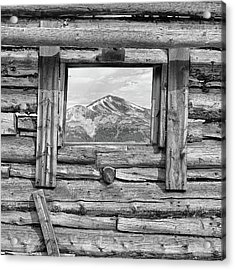Acrylic Print featuring the photograph Picture Window #2 by Eric Glaser