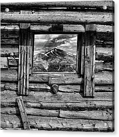 Acrylic Print featuring the photograph Picture Window #3 by Eric Glaser