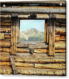 Picture Window #1 Acrylic Print by Eric Glaser