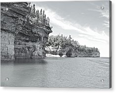 Pictured Rocks Shoreline National Park Acrylic Print by Michael Peychich