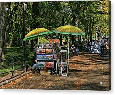 Pictures For Sale - Central Park Acrylic Print