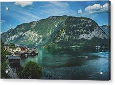 Picturesque Hallstatt Village Acrylic Print