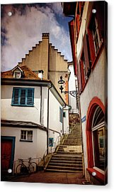 Picturesque Old Town Of Basel Switzerland  Acrylic Print