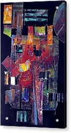 Pieces II Acrylic Print by Ralph Levesque