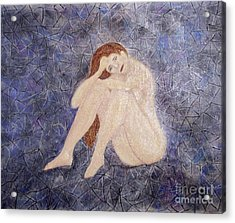Acrylic Print featuring the painting Pieces Of Me by Desiree Paquette