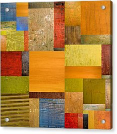 Pieces Project Ll Acrylic Print by Michelle Calkins