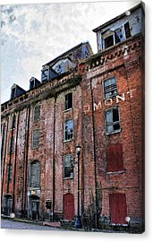 Acrylic Print featuring the photograph Piedmont Mill by Alan Raasch