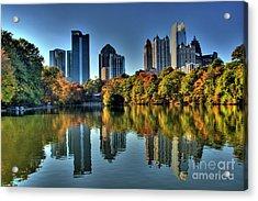 Piedmont Park Atlanta City View Acrylic Print