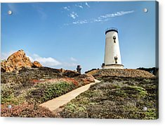 Piedras Blancas Light Station Acrylic Print
