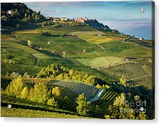 Acrylic Print featuring the photograph Piemonte Countryside by Brian Jannsen