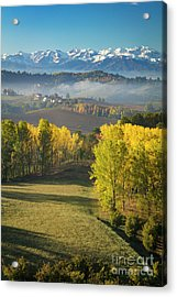 Acrylic Print featuring the photograph Piemonte Morning by Brian Jannsen