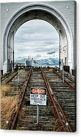 Pier 43 Ferry Arch San Francisco California Acrylic Print by Mary Lee Dereske