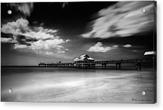 Pier 60 Acrylic Print by Marvin Spates