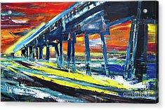 Pier #9 Acrylic Print