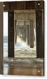 Pier Energy Acrylic Print