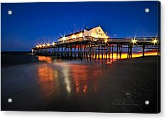 Pier Jewels 7884 Acrylic Print by Dan Beauvais