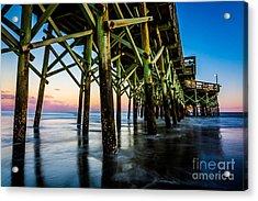 Pier Perspective Acrylic Print