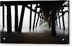 Acrylic Print featuring the photograph Pier Pressure by Sean Foster