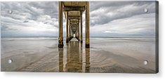 Pier Review Acrylic Print
