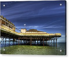 Pier Structure Acrylic Print by Svetlana Sewell
