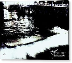 Acrylic Print featuring the photograph Pier by Vanessa Palomino