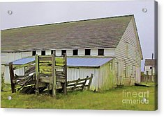 Pierce Pt. Ranch Barn Acrylic Print