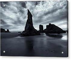 Piercing The Clouds Acrylic Print by Mike  Dawson