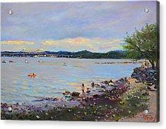 Piermont Shore Ny Acrylic Print