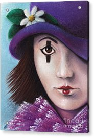 Pierrete Acrylic Print by Enaile D Siffert
