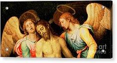 Pieta Detail Acrylic Print